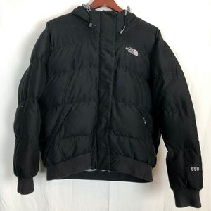 Size Large The North Face 550 Down Puffer Coat Fur